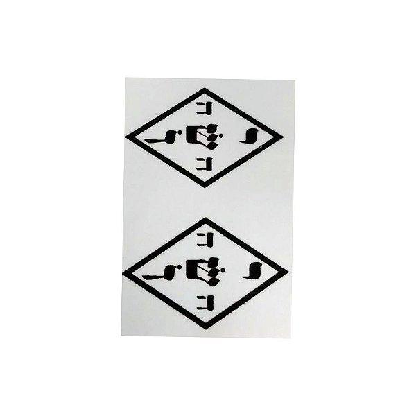 Adesivo Gráfico Yoshua pacote com 20