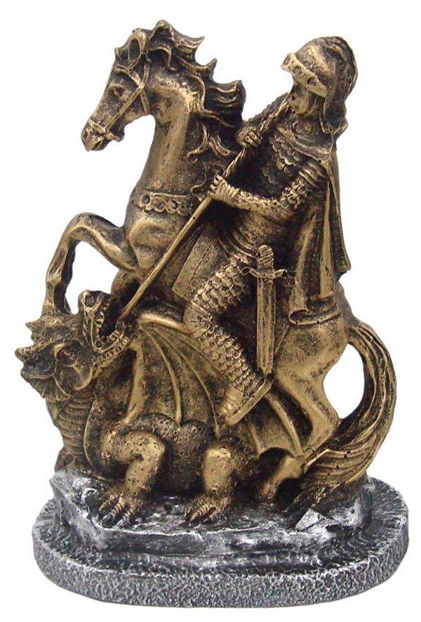 Escultura de São jorge P