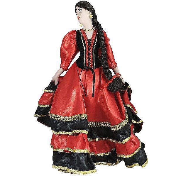 Cigana de Cerâmica Espanhola
