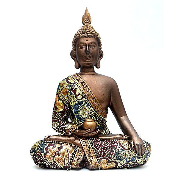 Estatueta Buda Tailandês Medicina