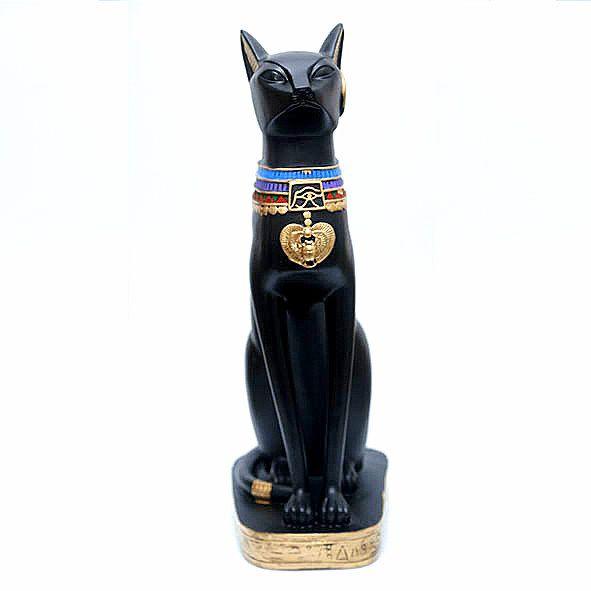 Estatueta Egípcia Gato Bastet 52 cm
