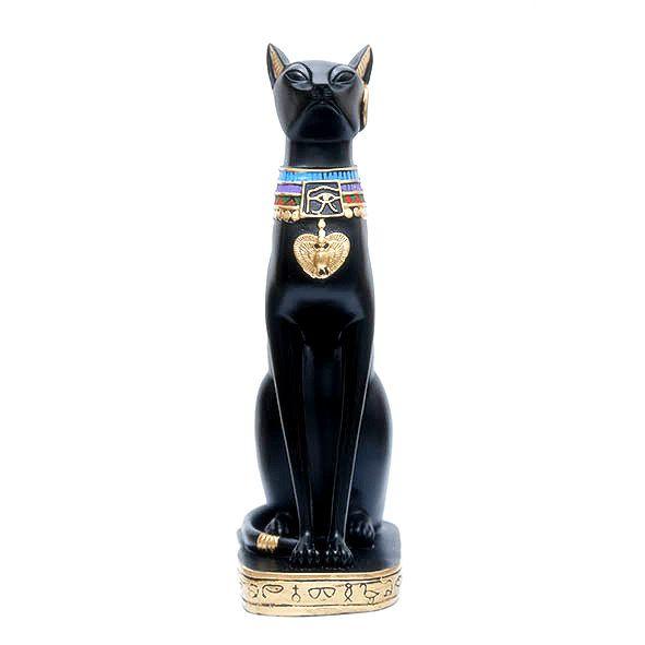 Estatueta Egípcia Gato Bastet 38 cm
