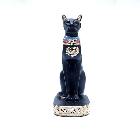 Estatueta Egípcia Gato Bastet 24 cm