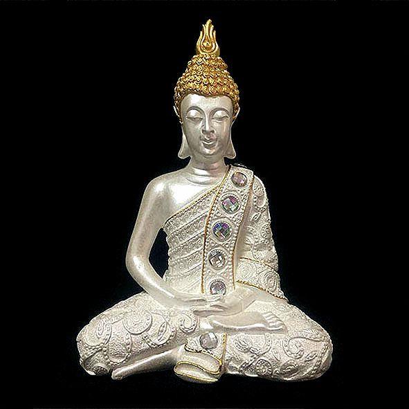 Buda Tibetano Pedras Meditando