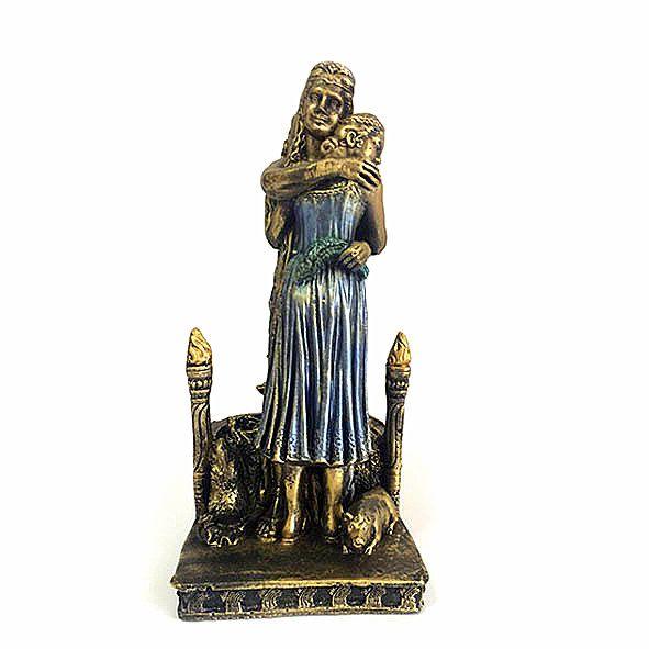 Estatueta Deméter e Perséfone