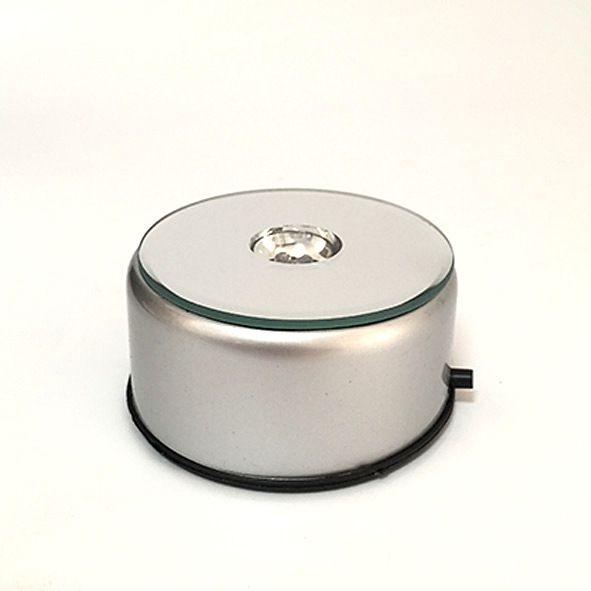 Base LED Giratória Para Cromoterapia