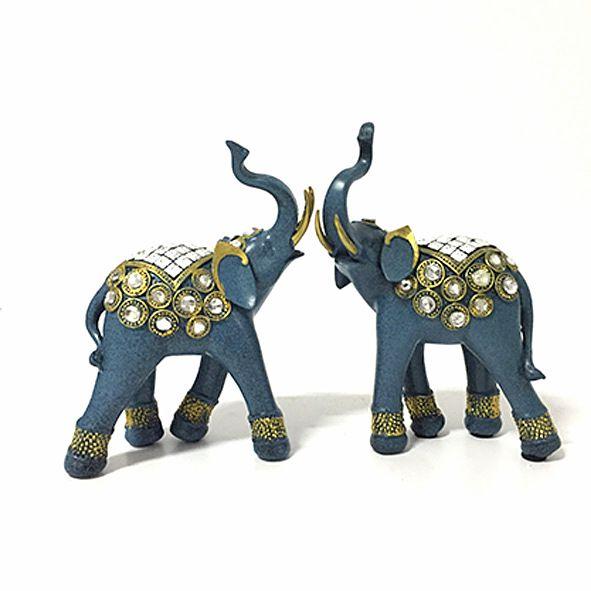 Dupla de Elefantes Pedras