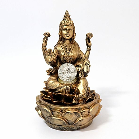 Fonte Shiva na Flor de Lótus