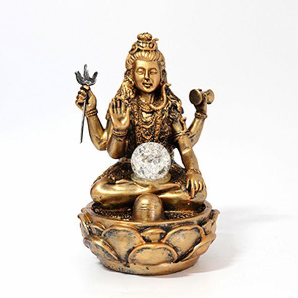 Fonte Krishna na Flor de Lótus