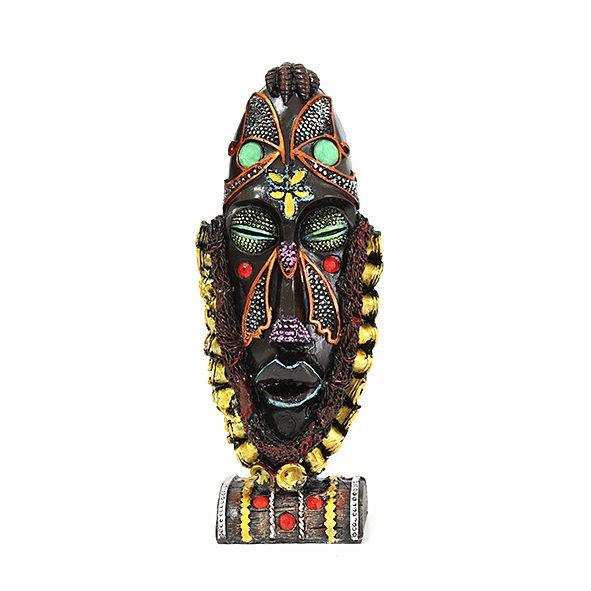 Mini Totem Máscara Africana