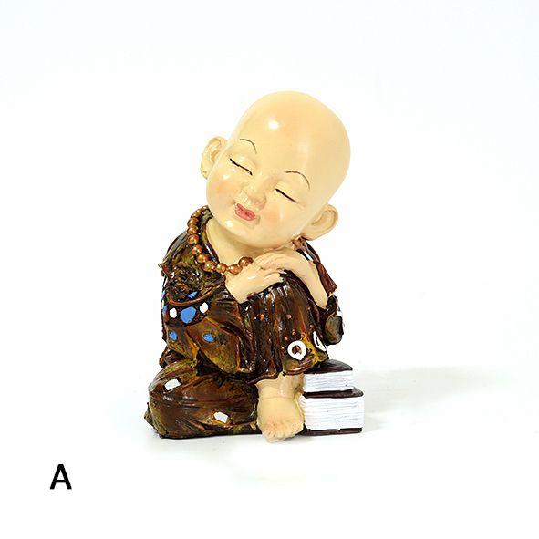 Três Modelos de Budas Meditando