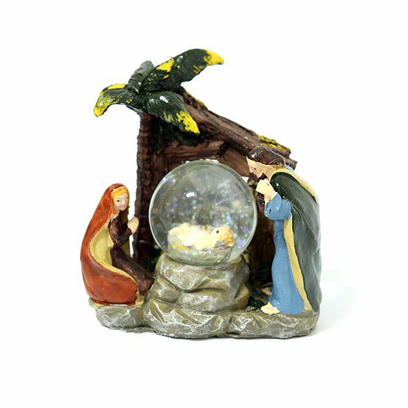 Presépio Menino Jesus na Bola de Cristal