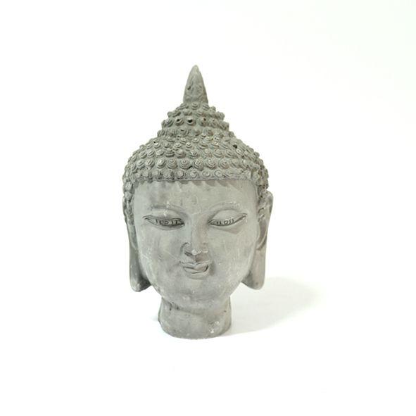 Cabeça de Buda Tai - Cimento
