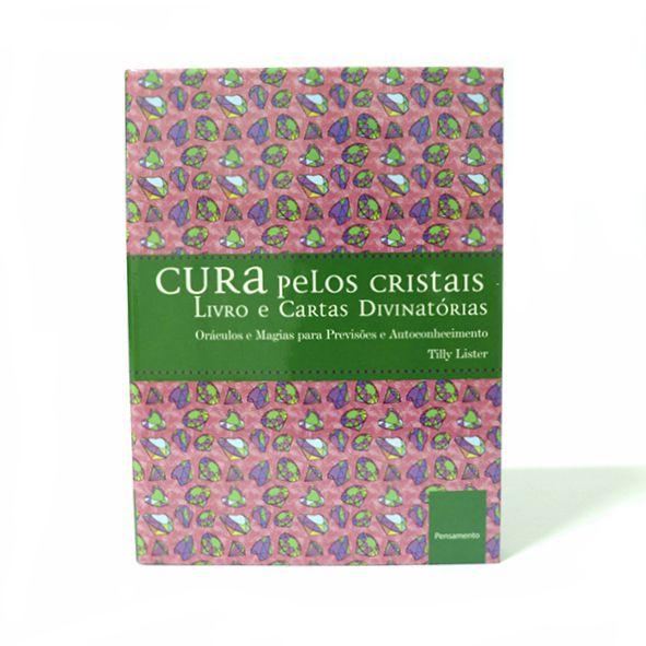 Livro - Cura Pelos Cristais - Livro e Cartas Divinatórias