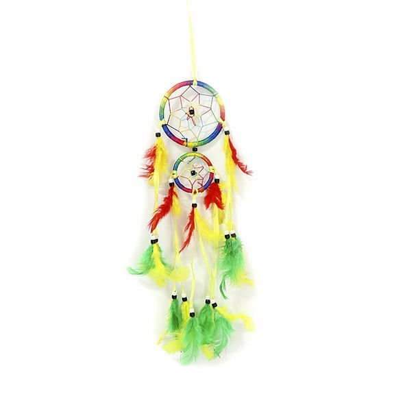 Filtro dos Sonhos Colorido 2 Aros - Pequeno