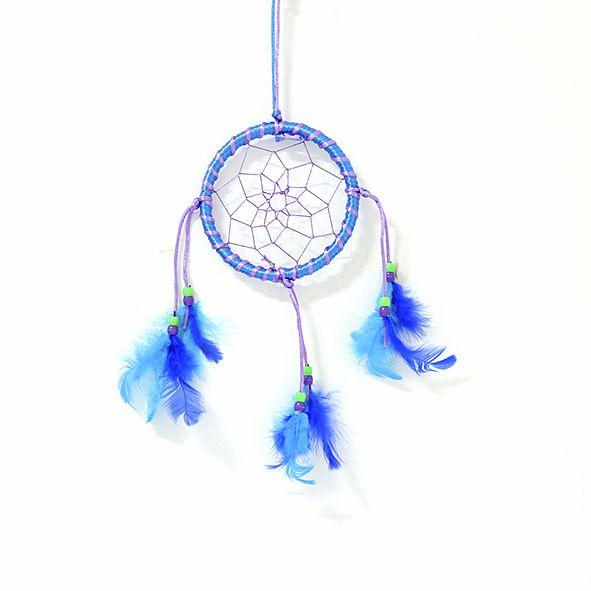 Filtro dos Sonhos Azul e Lilás - Pequeno