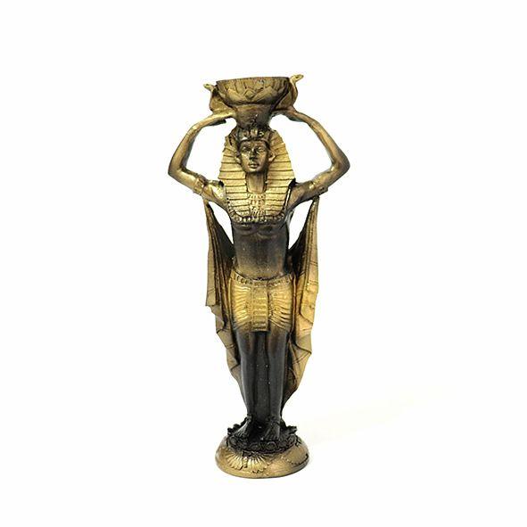 Faraó Tutankhamon Desejos 20 Cm