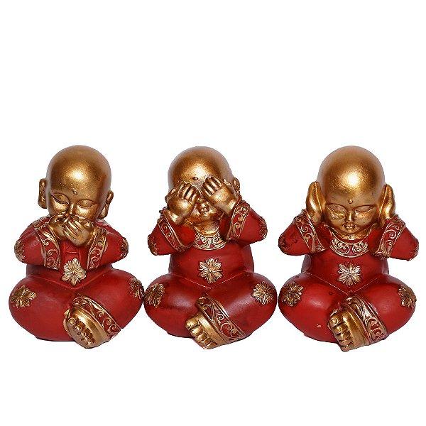 Trio de Monge Não Vê, Não Ouve, Não Fala