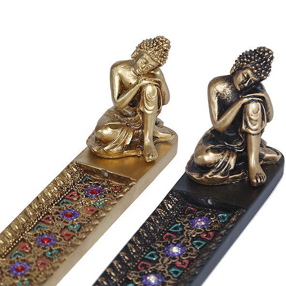 Incensário Buda Tibetano com Brilhante