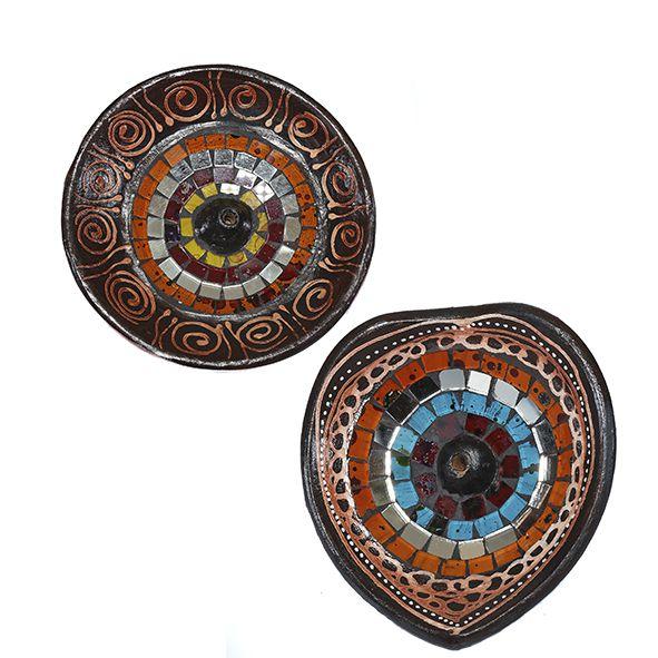 Incensário Indiano em Cerâmica
