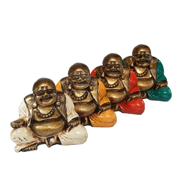 Estatuetas de Budas Sorridentes