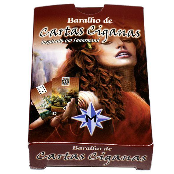 Baralho de Cartas Ciganas - Mandala Esotérica