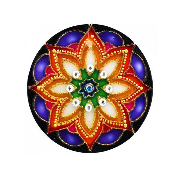 Mandala Floral - Média