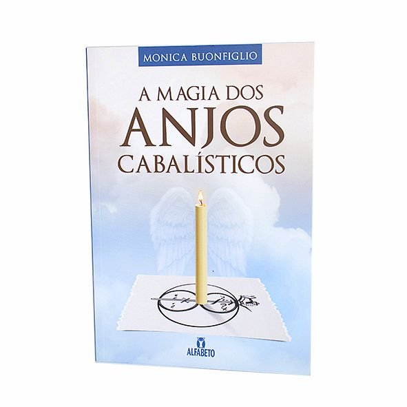 Livro A Magia dos Anjos Cabalísticos
