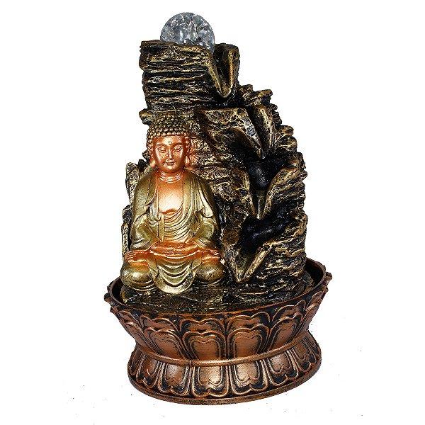 Fonte Buda Meditando 4 Quedas