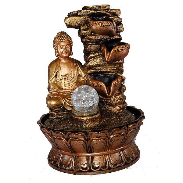 Fonte Buda Meditando 3 Quedas