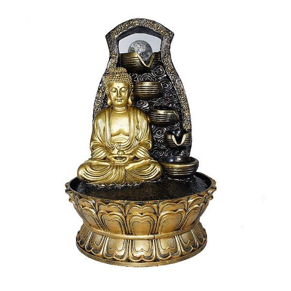 Fonte Buda Meditando 5 Quedas