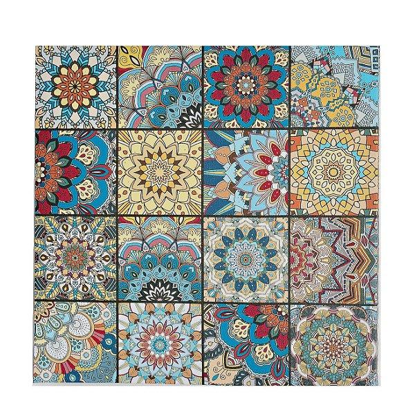 Quadro Mandala Decorativo Modelos Variados 50x50 Cm