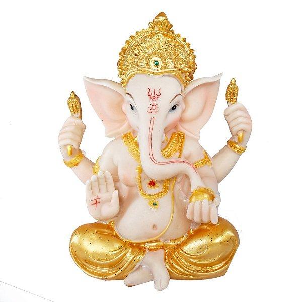 Estatueta Ganesha Sentado