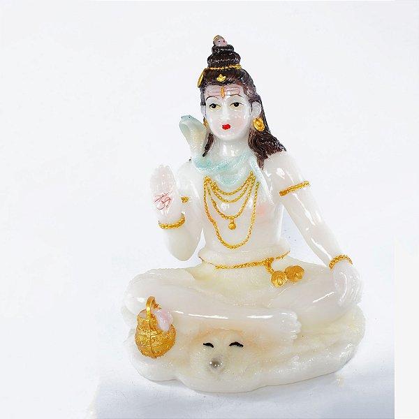 Estatueta Shiva Branca