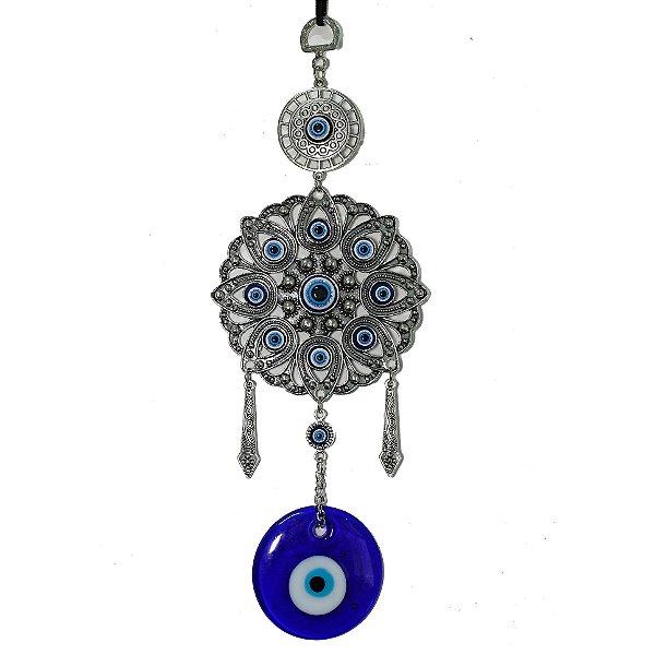 Mobile Mandala com Olho Grego