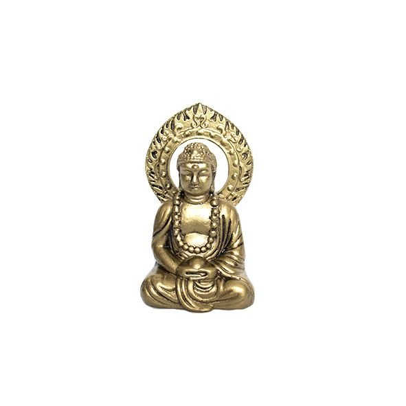Buda Dourado com Aura Pequeno