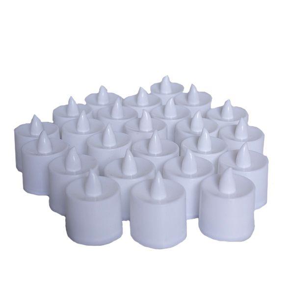 Caixa de Vela de LED com 24 unidades