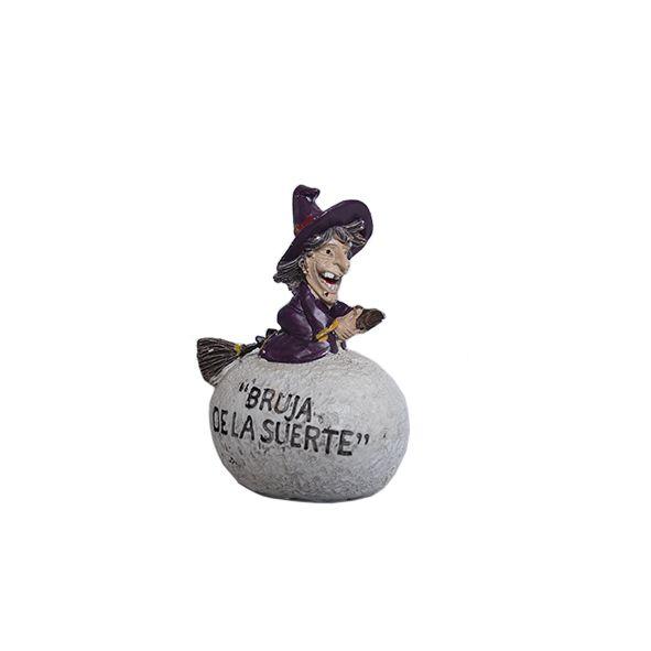 Mini Bruxa da Sorte na Pedra Branca