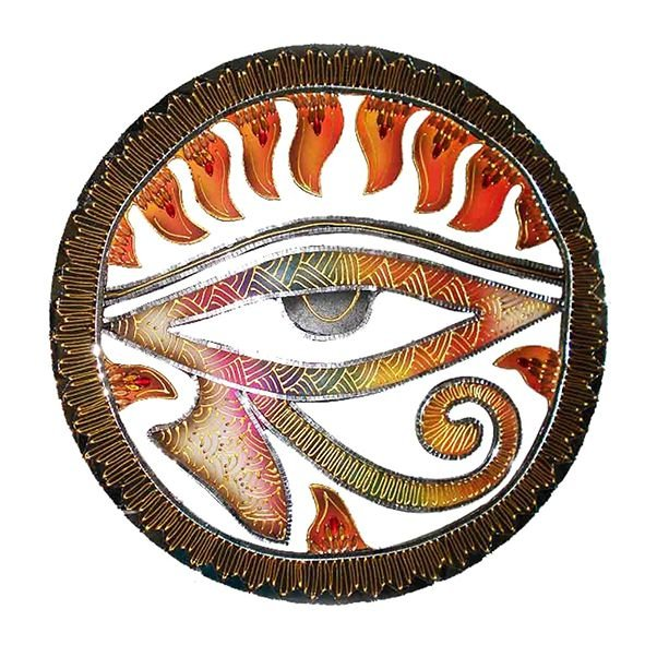 Mandala Olho de Hórus - MDF