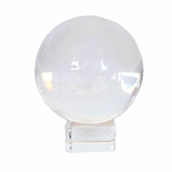 Bola de Cristal 8cm com Base