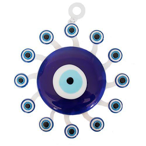Mobile Branco Olho Grego 20cm