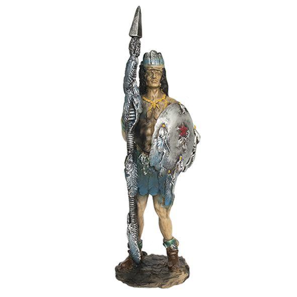 Índio em Pé com Escudo