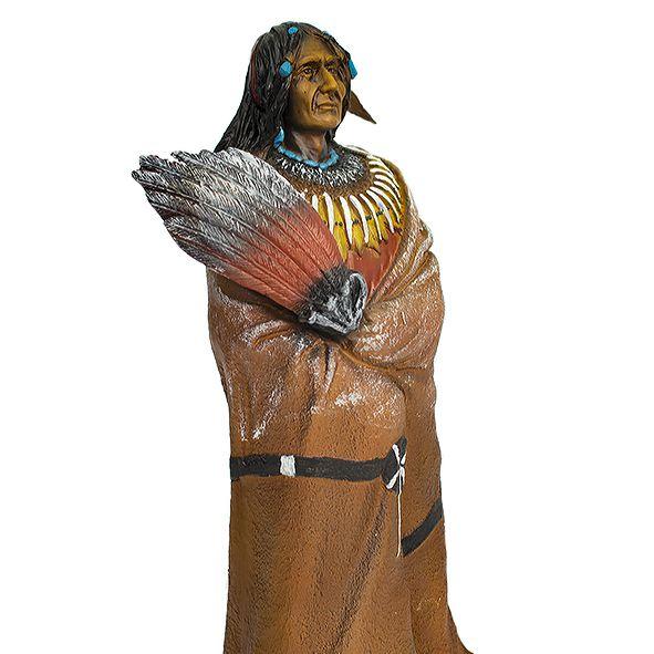 Índio em Pé 30cm