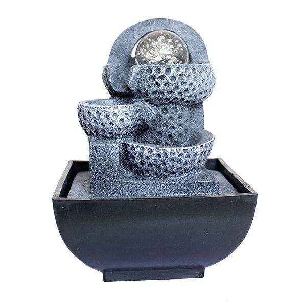 Fonte Vasos Arco 3 Quedas com Bola de Cristal