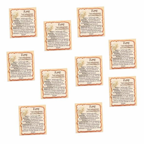 Amuleto Kame - Pacote com 10