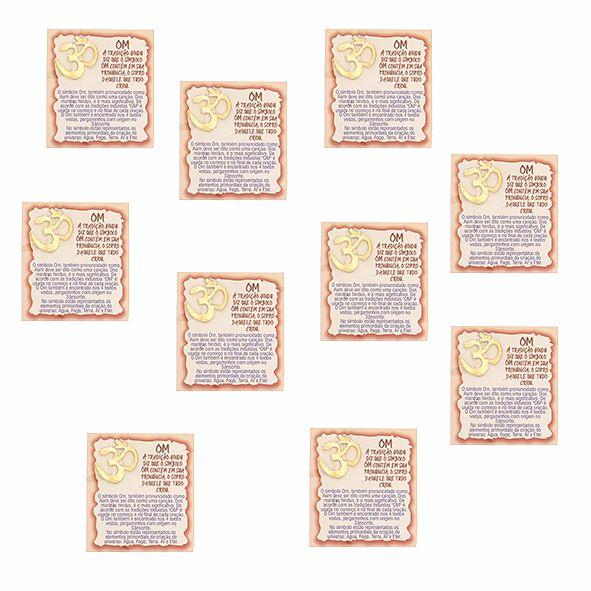 Amuleto OM - Pacote com 10