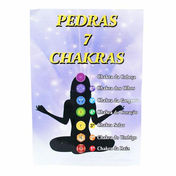 Kit Pedras dos 7 Chakras - Drusa