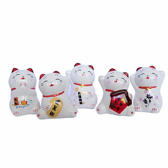 Maneki Neko Pequeno - Diversos Modelos