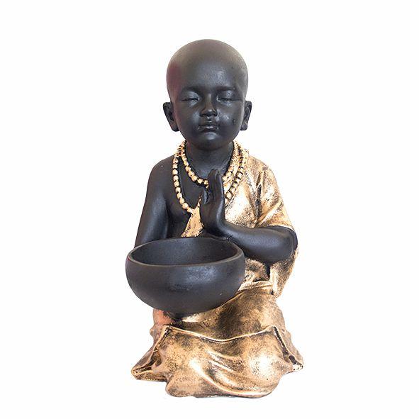 Monge com Castiçal