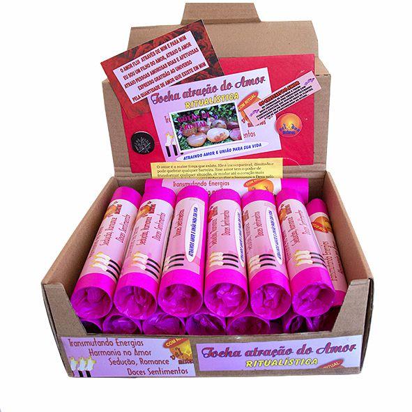 Tocha Atração do Amor - Caixa com 24 Unidades